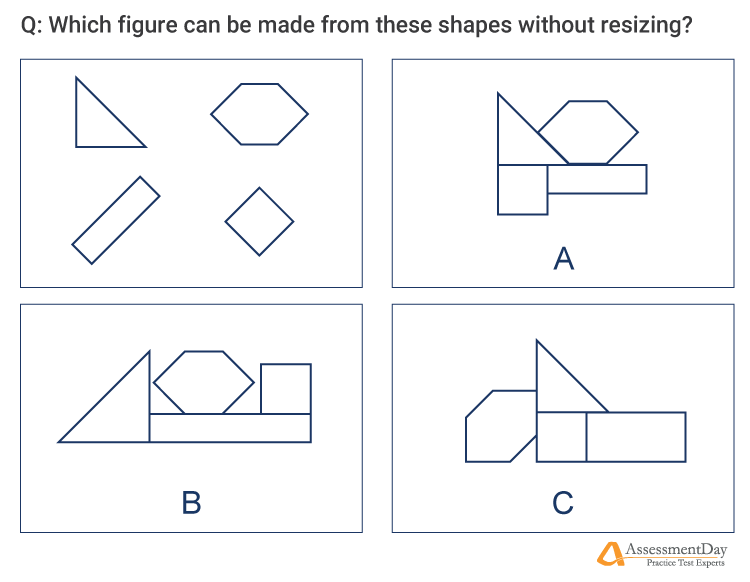 spatial reasoning sample question