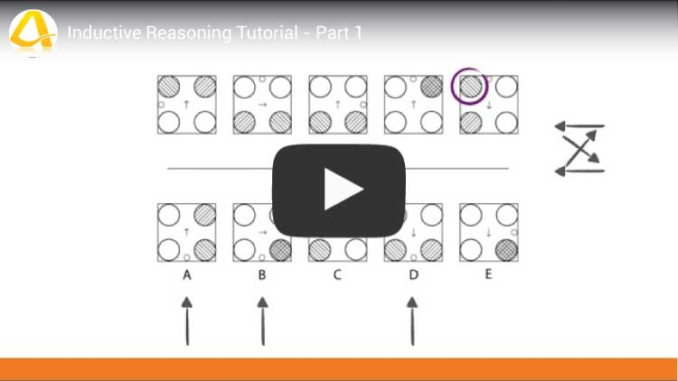 inductive reasoning tutorial part 1 youtube video screenshot