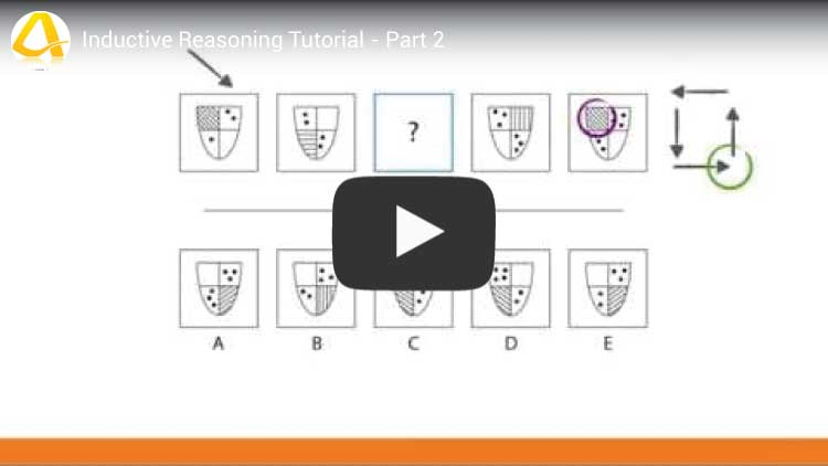 inductive reasoning tutorial part 2 youtube video screenshot