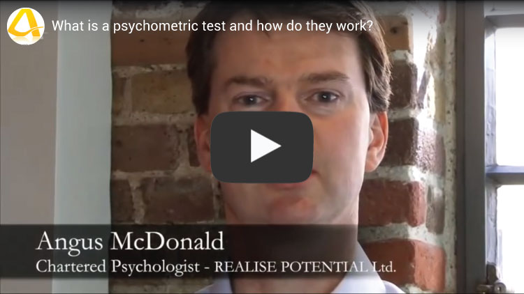 what is a psychometric test video youtube screenshot