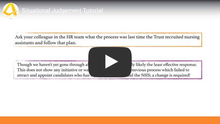 situational judgement test tutorial video youtube